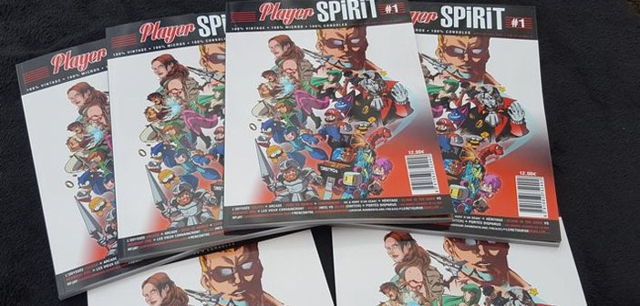 Player Spirit, un nouveau magazine papier !