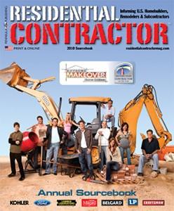 Residential Contractor Sourcebook 2010