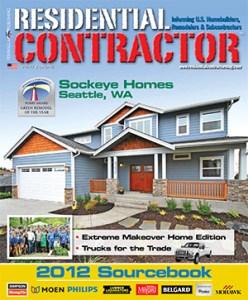 Residential Contractor Sourcebook 2012
