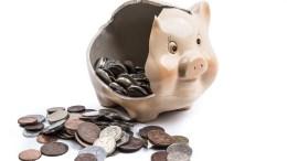 piggy bank rental arrears