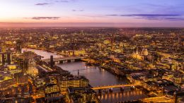 London Property Price Rises Dragging Down UK