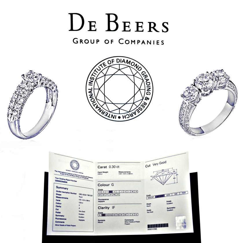 diamanti certificati de beers