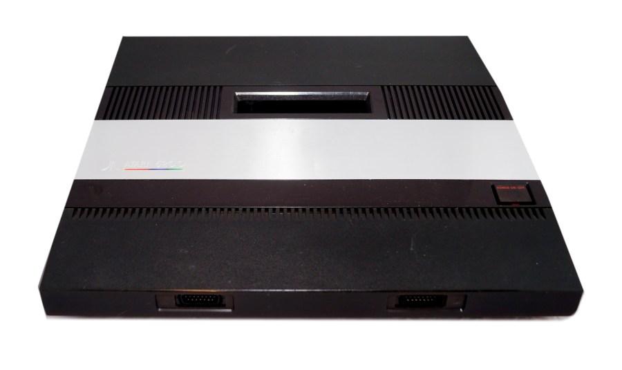 An Atari 5200 on a white background.