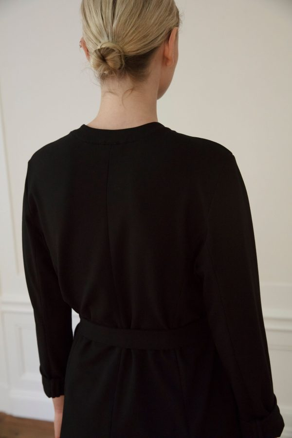 Residus Lawrence ecovero jacket from the back