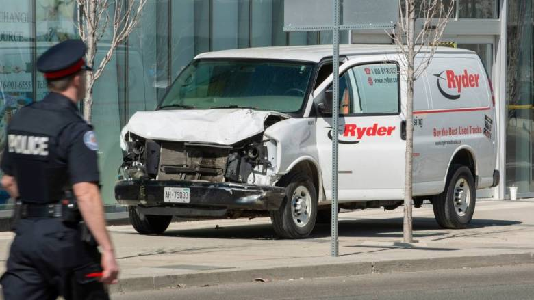 Deadly van attack in Toronto