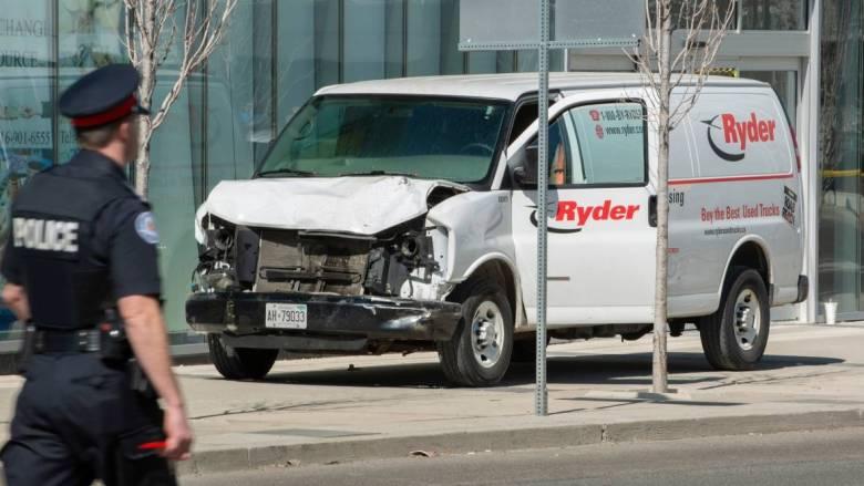 Deadly van attack in Toronto