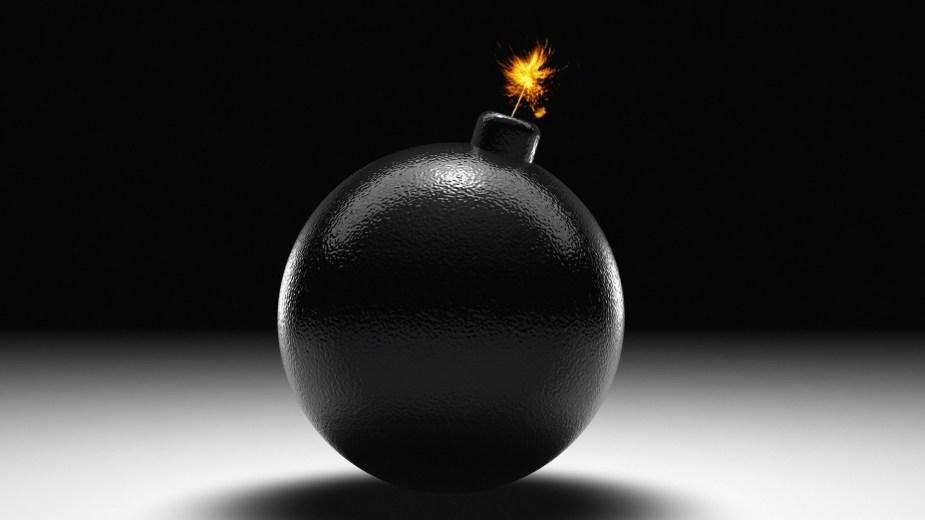 Big black bomb