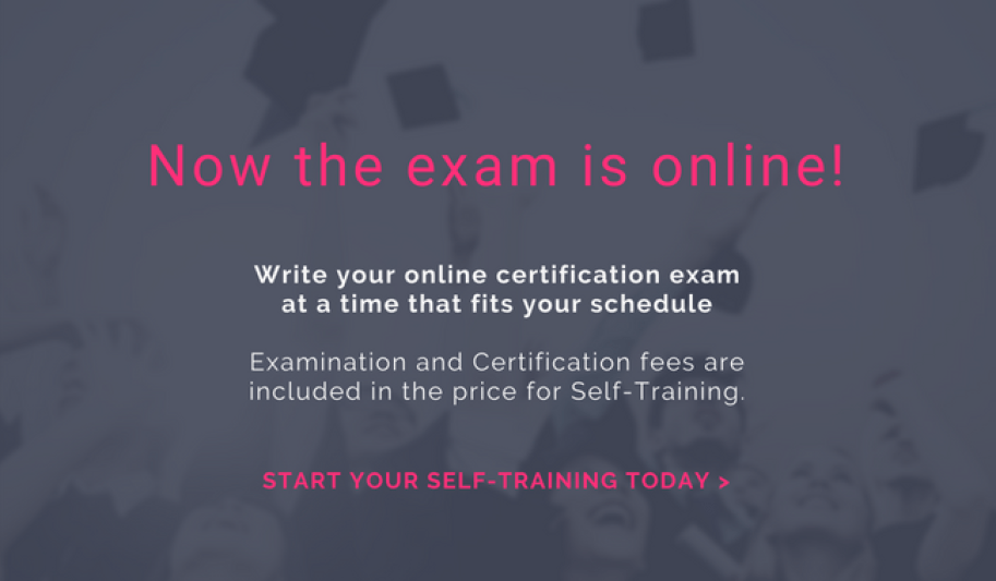 Now the exam is online