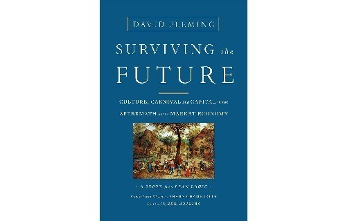 Surviving the future book cover