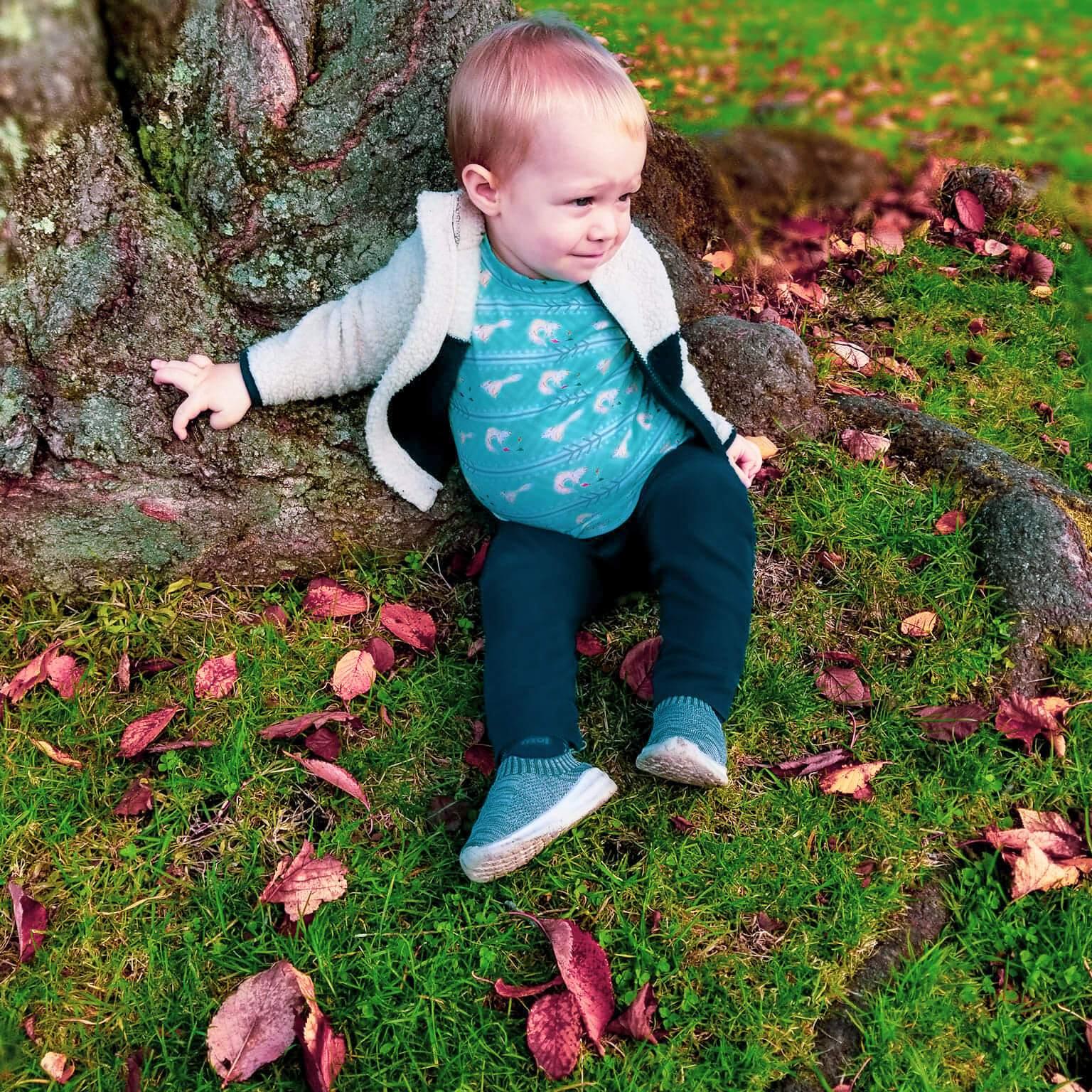 short sleeve tshirt tee toddler baby unisex fox rain print collection