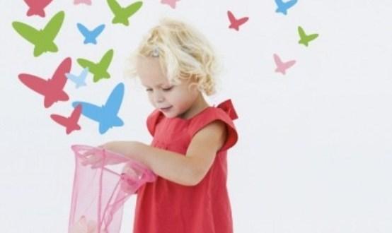kelebekli duvar kağıtları