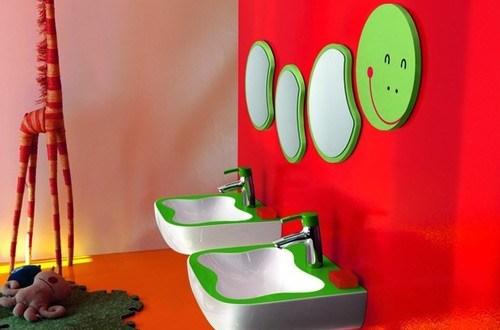 çocuklar için lavabolar
