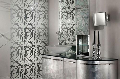 gümüş banyo modelleri