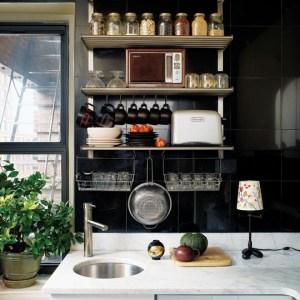 Küçük Mutfak Tasarımları (24)
