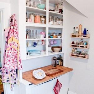 Küçük Mutfak Tasarımları (26)