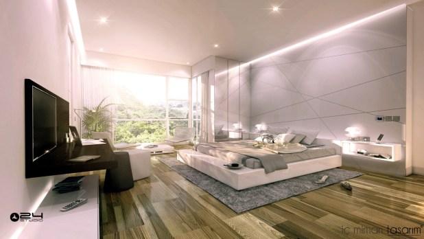 25 Muhteşem Yatak Odası Tasarımları (19)