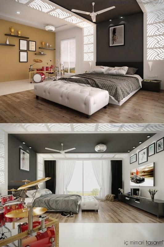 25 Muhteşem Yatak Odası Tasarımları (21)