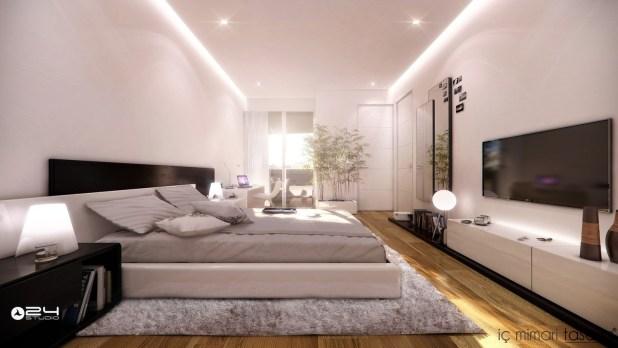 25 Muhteşem Yatak Odası Tasarımları (8)