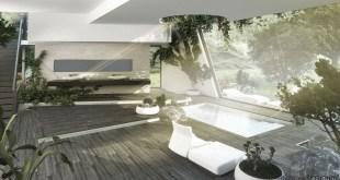 Banyoları Doğayla Buluşturan Tasarımlar (12)