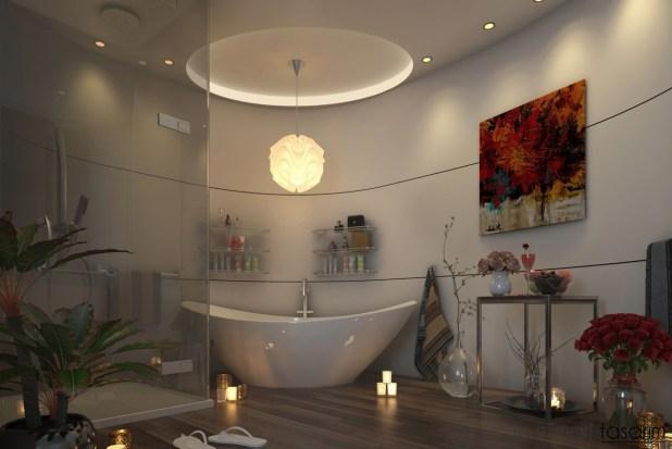 Banyoları Doğayla Buluşturan Tasarımlar (17)