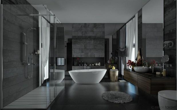 Banyoları Doğayla Buluşturan Tasarımlar (20)