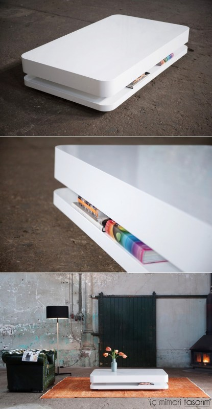 white-simple-coffee-table