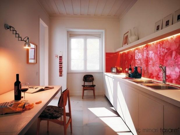 Mozaik-Ahşap-Duvar Kağıtlarıyla-Mutfak-Tasarımları (9)