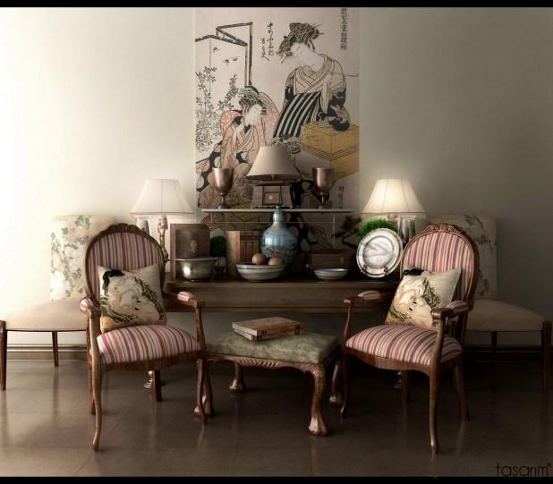 Klasik-retro-tarzı-modern-yaşam-alanı-tasarımları (3)
