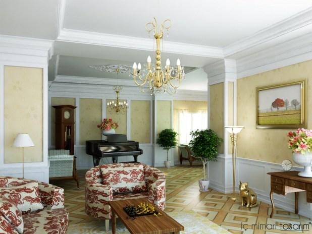 Klasik-retro-tarzı-modern-yaşam-alanı-tasarımları (7)