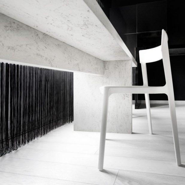 İtalyan Stili Beyaz Moder Ev Tasarımıları (17)