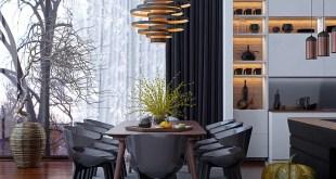 Zarif Tasarımlı 30 farklı Yemek Odası Tasarımları (7)
