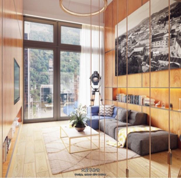 Yüksek Tavanlı Küçük Evlerde Ferahlık Veren İç Dekorasyon (23)
