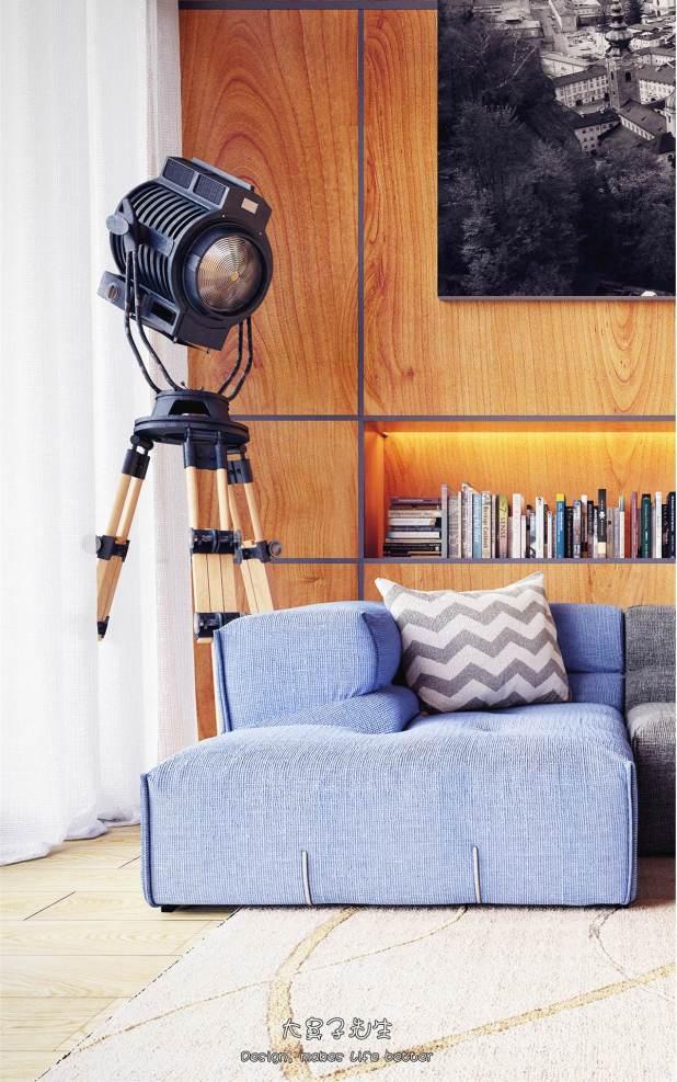 Yüksek Tavanlı Küçük Evlerde Ferahlık Veren İç Dekorasyon (8)