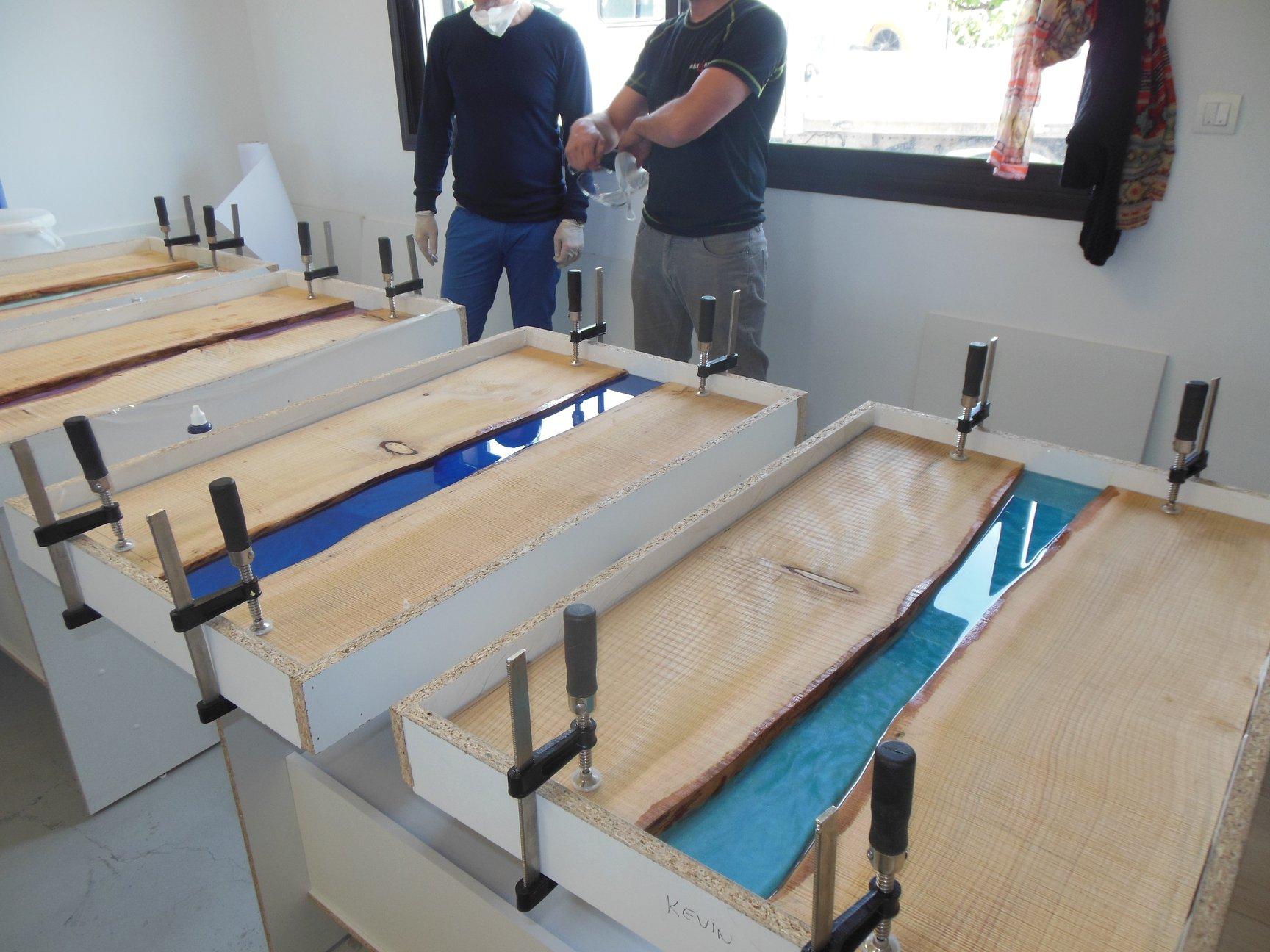 formation resine table riviere journee entiere resin pro sasu