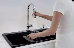 kitchen faucet for hard water banner