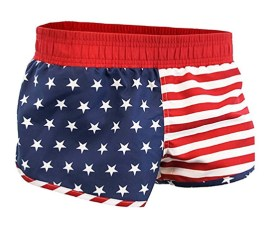 girls-US-Flag-Shorts