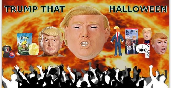 President Trump Halloween costume best mask