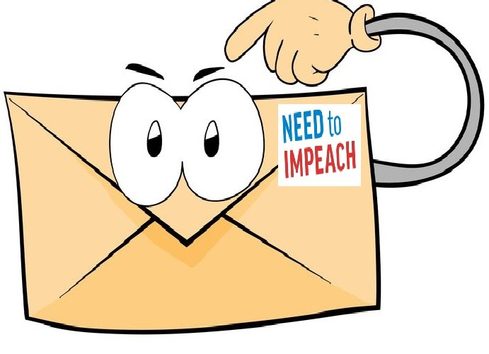 send need to impeach electronic postcards