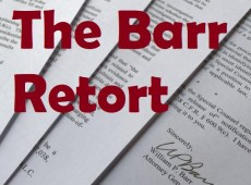 Barr Refuses Transparency-What Next?