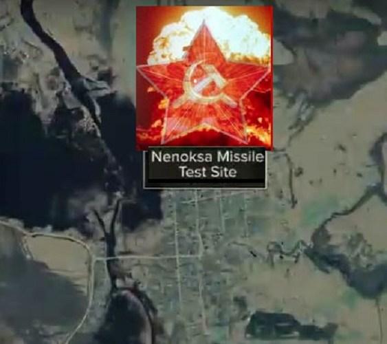 Nenoska Russia nuclear test fail