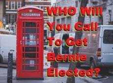 Will you call voters from home?