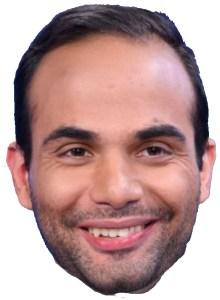 George Papadopoulos Halloween mask