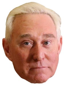 Roger Stone Fake News Halloween mask