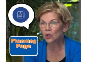 A Report From Iowa about Warren Grass Roots- Elizabeth Warren has a plan for that