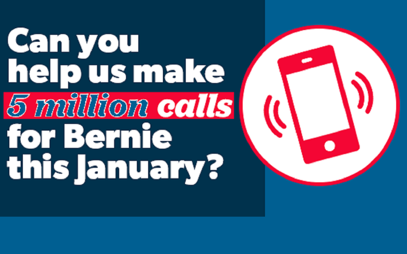 Call for Bernie's nomination