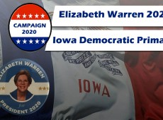 Elizabeth Warren Campaign's Lead Up to the Iowa Caucus