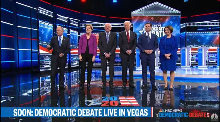 6 Candidates Funded enough to Get into The Las Vegas Democratic Debate 2020 - How Did NBC Do?