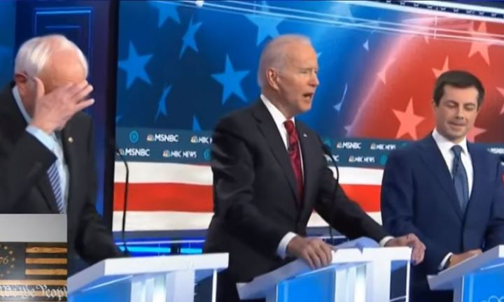 When Biden Speaks at The Las Vegas Democratic Debate 2020 - Didn't NBC Do Him?