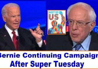 Bernie Sanders voters demand continuing the campaign