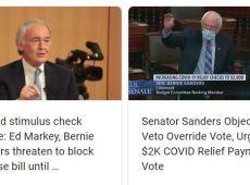 Bernie Sanders Calls Out Cheapskate Republican COVID Aid Bill